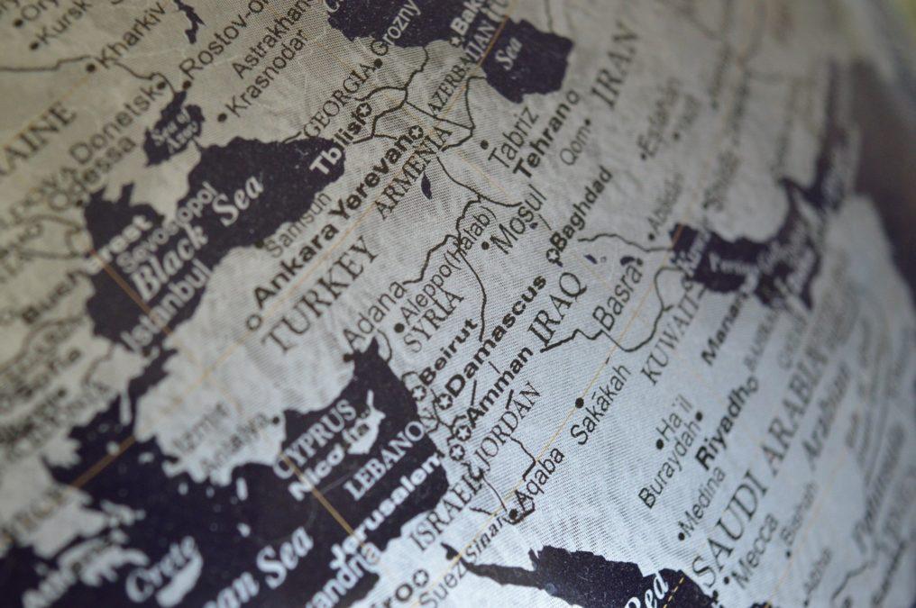 syria levant map